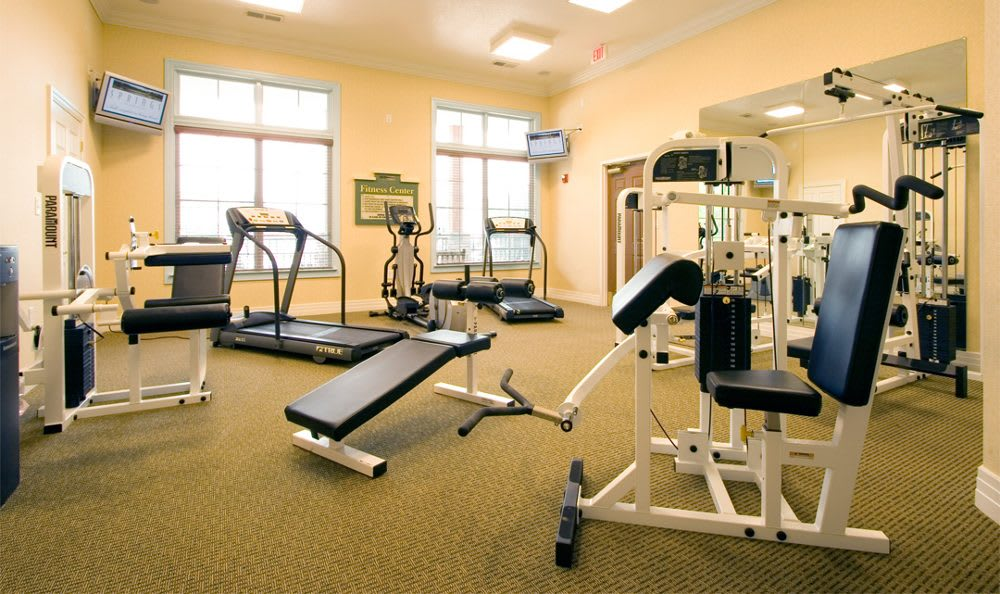 Fitness center at Springs at Greystone in Birmingham