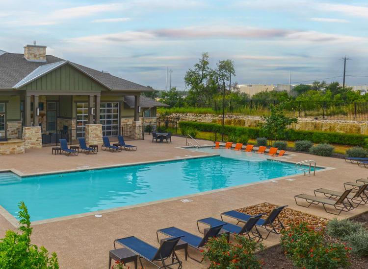 swimming pool at Springs at May Lakes in Oklahoma City, OK
