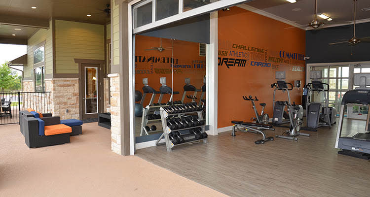 Springs at Cottonwood Creek Apartments gym in Waco
