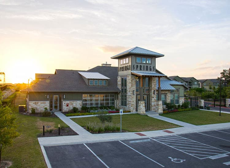 Clubhouse At Springs at Cottonwood Creek Apartments