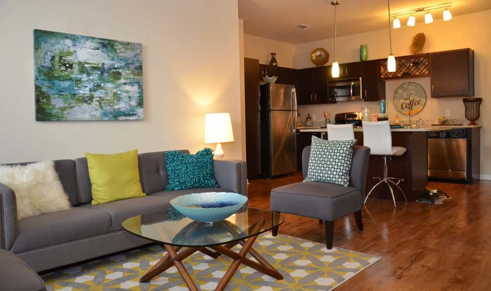 Ample living space at Springs at Cottonwood Creek Apartments