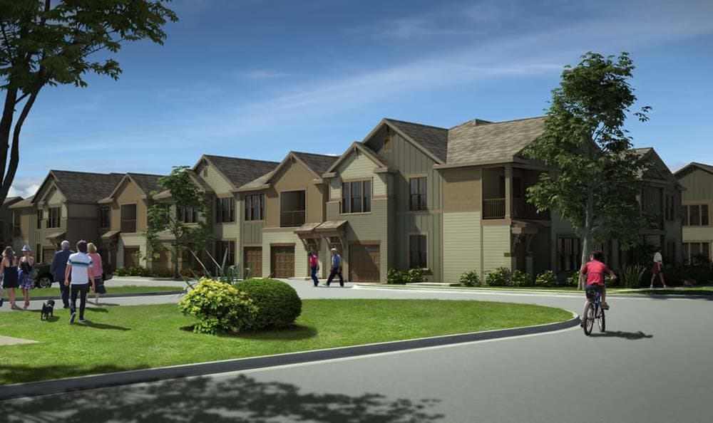 Exterior Shot Of Springs at Cottonwood Creek Apartments