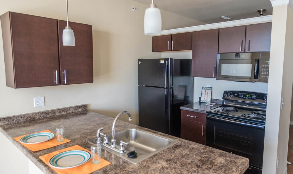 Fully Equipped Kitchen at Springs at Apple Valley
