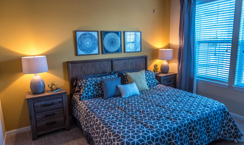 Well Decorated Bedroom at Springs at Apple Valley