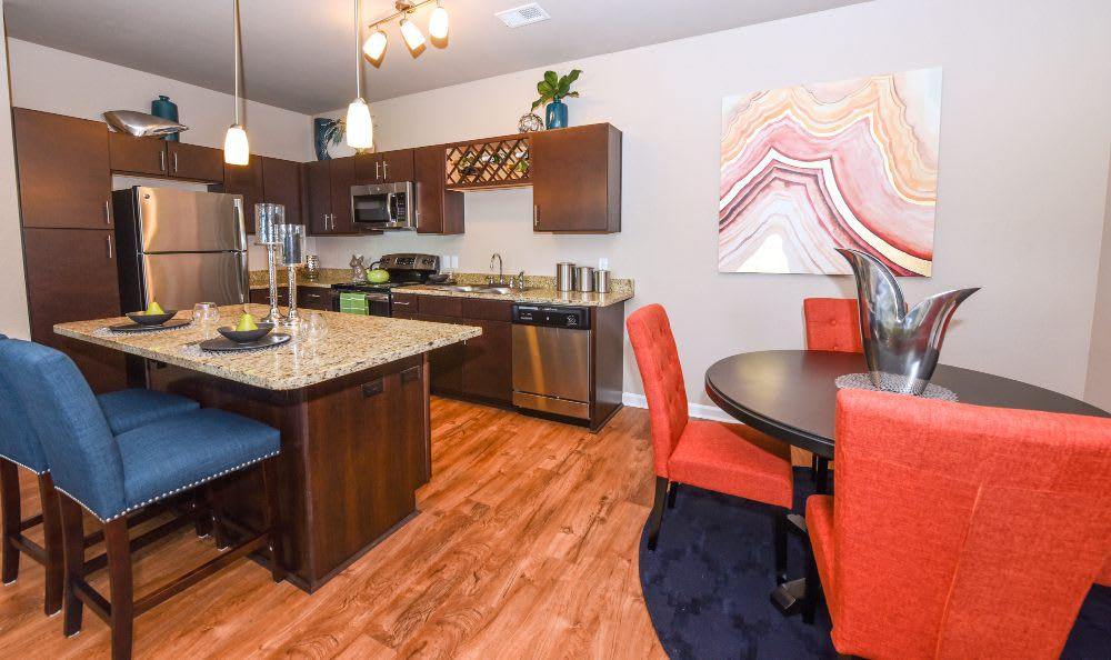 Modern kitchen at Springs at Bee Ridge in Sarasota