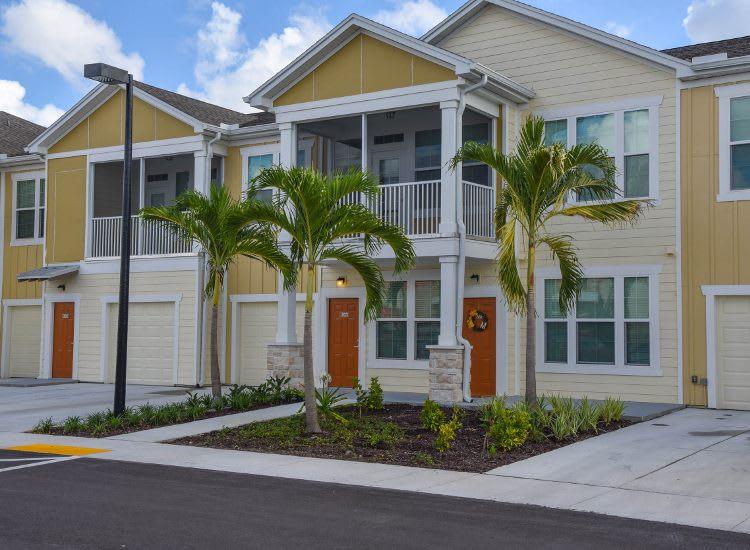 Building exterior at Springs at Bee Ridge in Sarasota