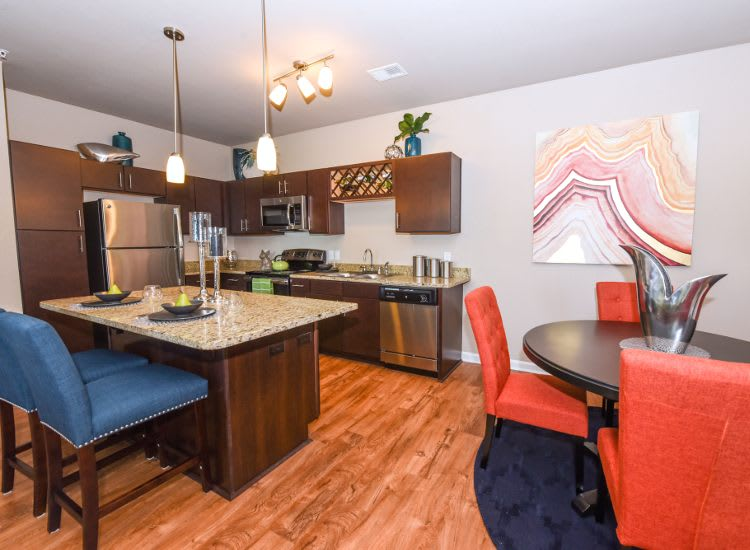 Updated kitchen at Springs at Bee Ridge in Sarasota