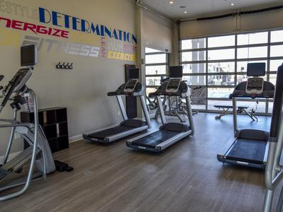 Fitness center at Springs at Egan Drive in Savage