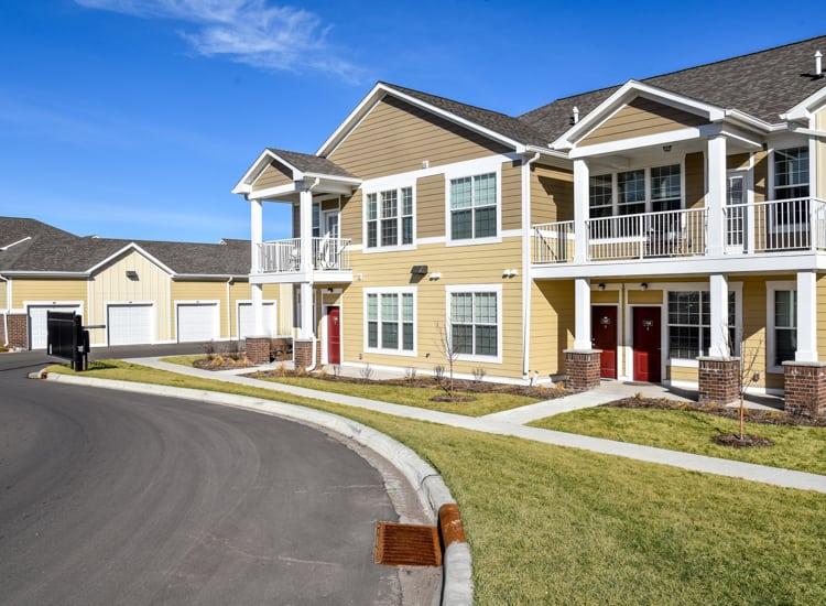 apartments building exterior view at Springs at Egan Drive in Savage, MN