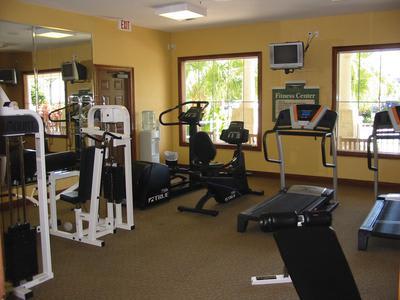 Fitness center at Springs at Palma Sola in Bradenton