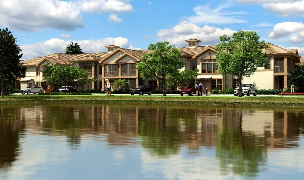 Gorgeous apartments at Springs at Gulf Coast in Estero