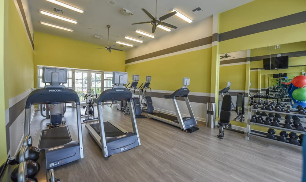 Fitness Center At Lakeline Photo
