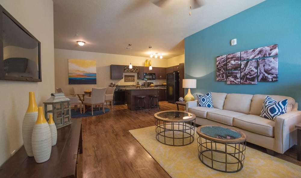 Living Room At Lakeline Photo