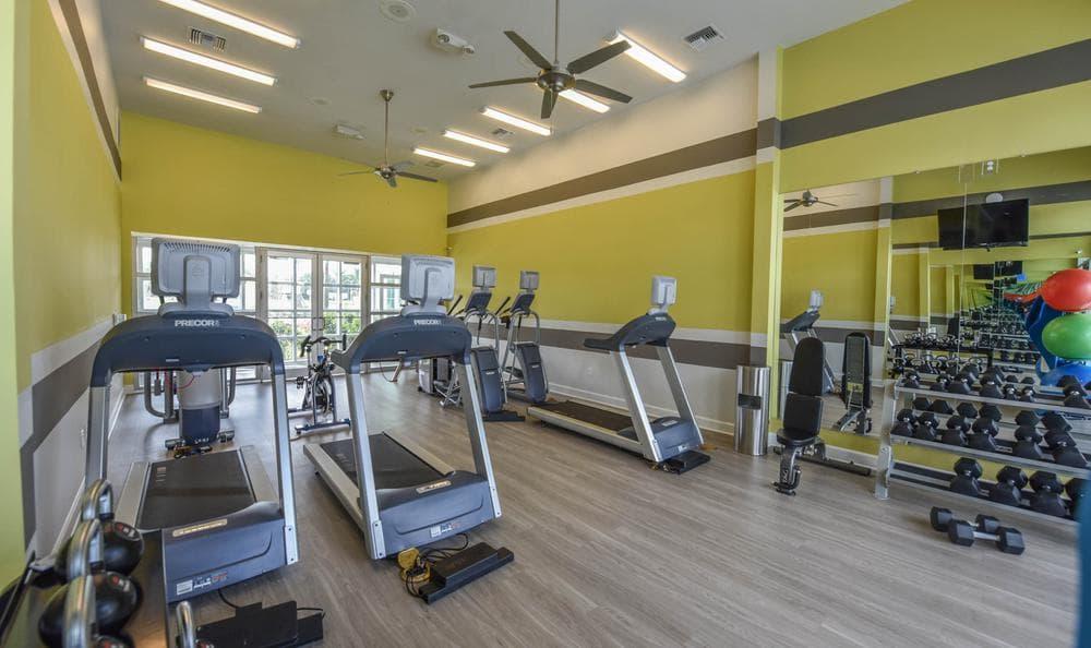 fitness center at Springs at McDonough in McDonough, GA