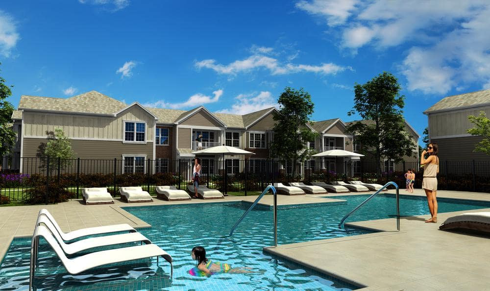 swimming pool at Springs at McDonough in McDonough, GA
