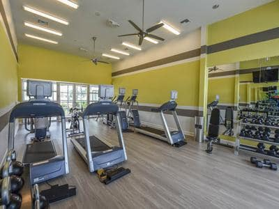Fitness center at Springs at Round Rock in Round Rock