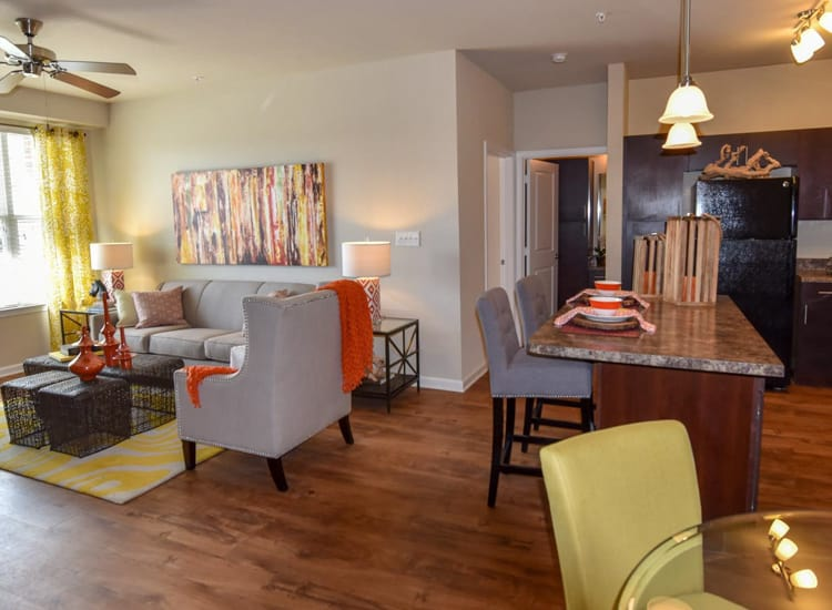 Open floor plan at Springs at Round Rock