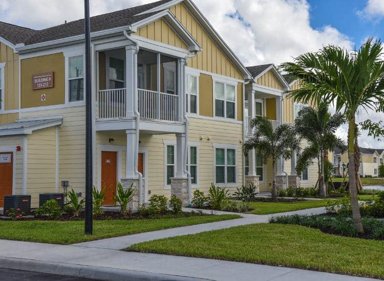 Building exterior at Springs at Six Mile Cypress in Fort Myers