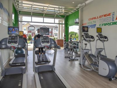Fitness center at Springs at Winchester Road in Lexington