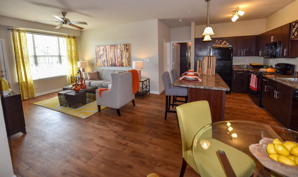 Open Floor Concept At Winchester Road Photo