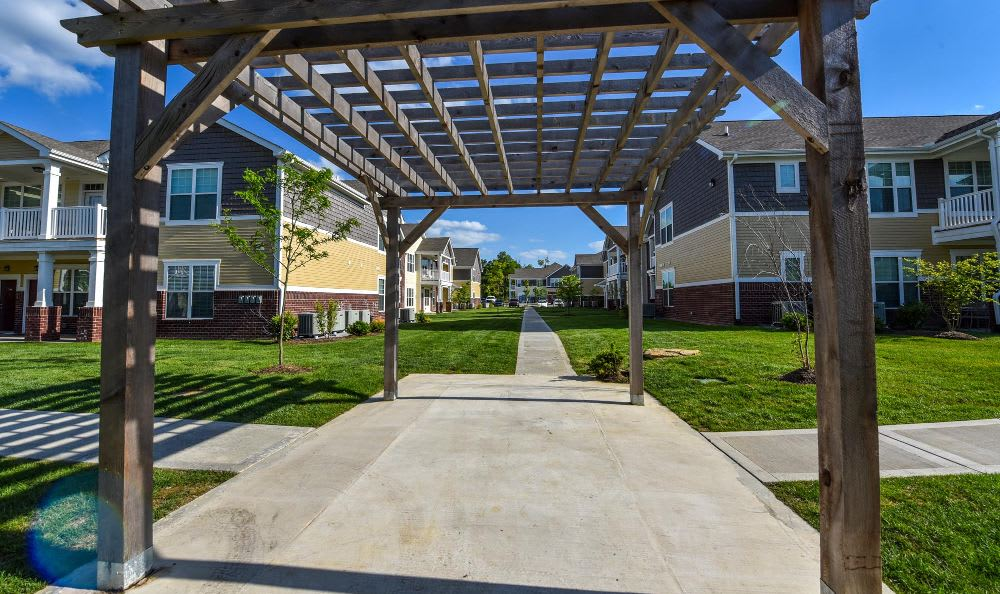 Beautiful Courtyard At Winchester Road Photo