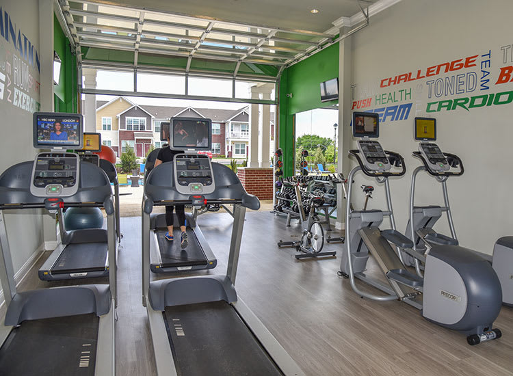Springs at Sun Prairie offers a fitness center