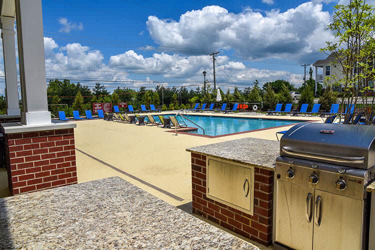 Hot tub at Springs at Sun Prairie in Sun Prairie