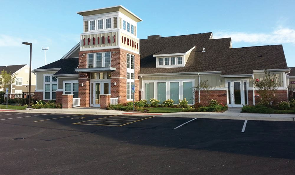 Clubhouse At Springs at Canterfield In West Dundee