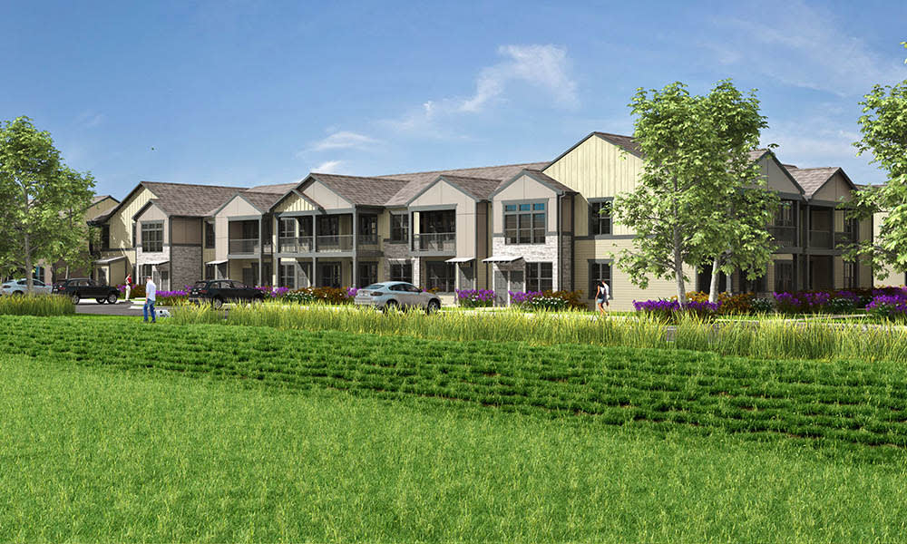 Springs at Sunfield Exterior Rendering