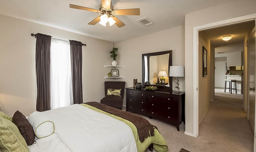 Master Bedroom at The Commons