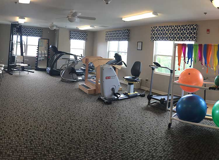 RobinBrooke Senior Living keeps residents active mentally and physically.