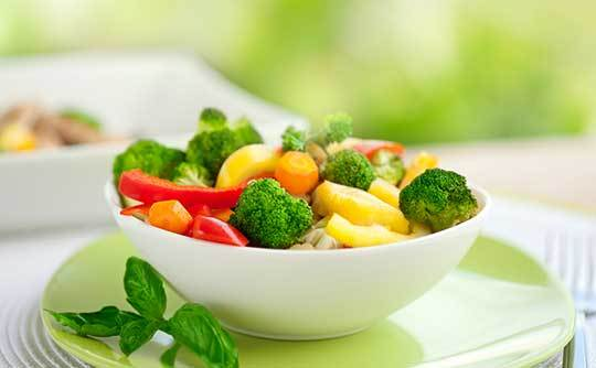 Steamed veggies are very distinctive at Arcadia Senior Living Bowling Green