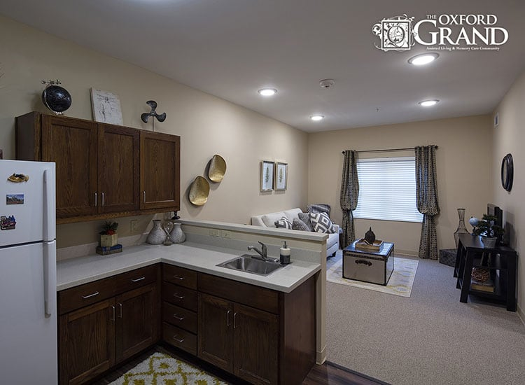 Cozy The Oxford Grand Assisted Living & Memory Care floor plans