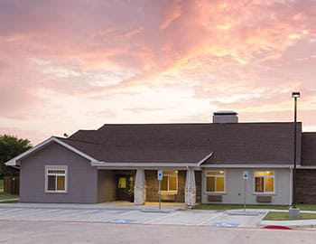 Our senior living community in Carrollton, TX