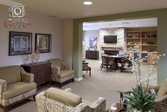 Relax at The Oxford Grand Assisted Living & Memory Care