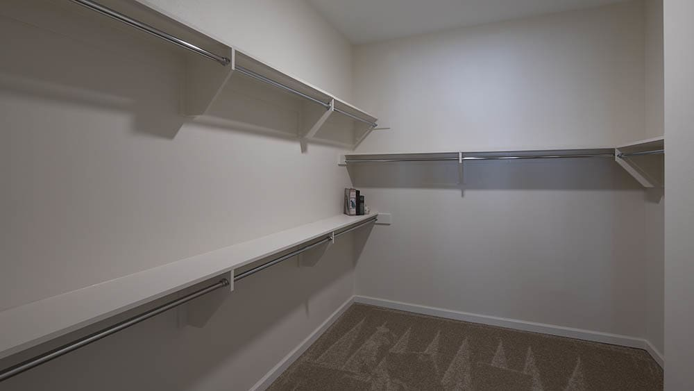 Closet for Oxford Villa Active Senior Apartments