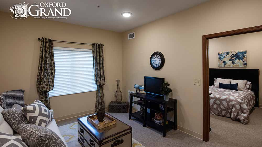 Open floor plan at The Oxford Grand Assisted Living & Memory Care