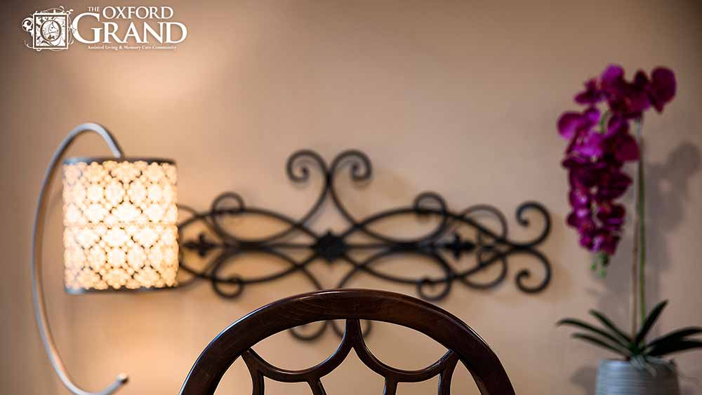 The Oxford Grand Assisted Living & Memory Care has the finishing touches you're looking for