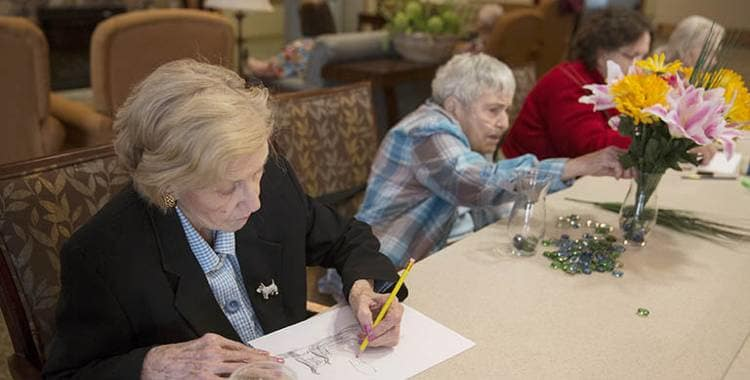 Activities Oxford residents are enjoying in Oxford Glen Memory Care at Sachse