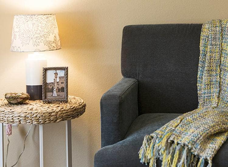 Comfy amenities at Oxford Glen Memory Care at Sachse