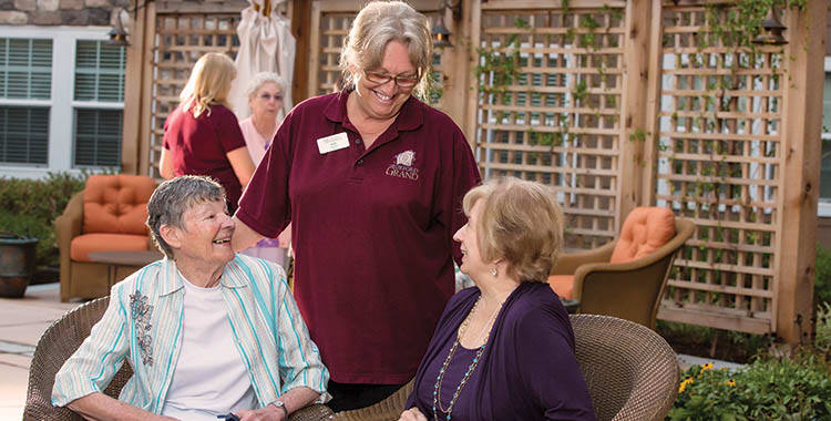 Outdoor Activities at The Oxford Grand Assisted Living & Memory Care