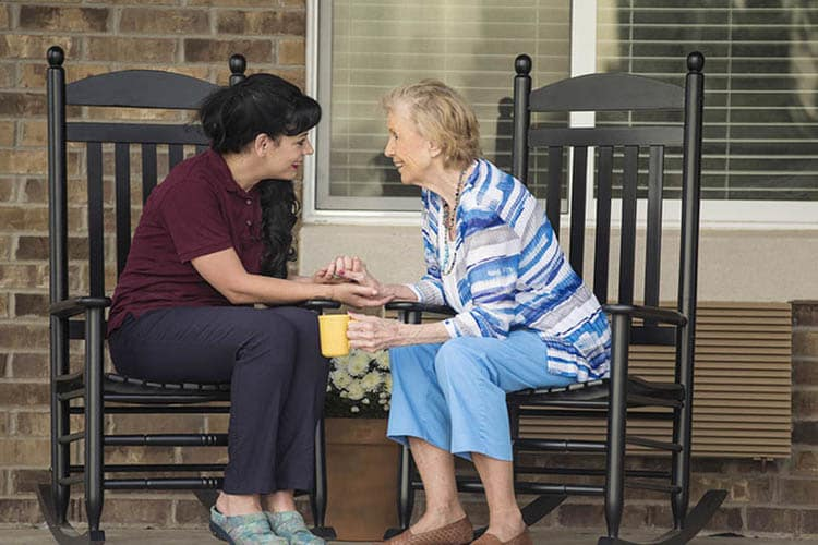 Included services at Oxford Glen Memory Care at Carrollton include assistance with personal care
