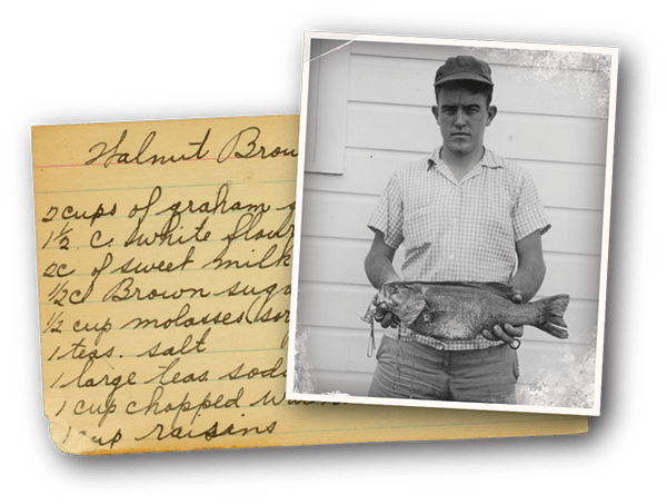 Fishin' and recipes at Oxford Glen Memory Care at Carrollton