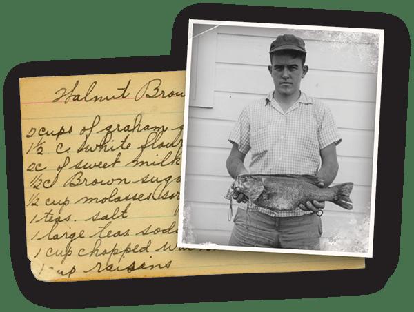 Fishin' and recipes at Oxford Glen Memory Care at Carrollton