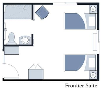 Frontier Suite at Oxford Glen Memory Care at Owasso