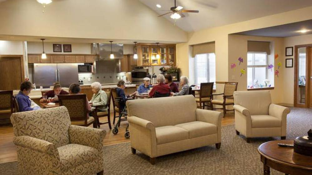 Kitchen fully equipped at Glen Carr House Memory Care in Derby, Kansas