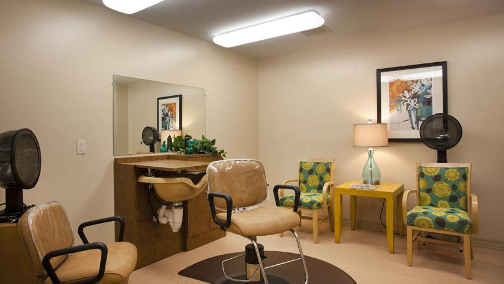 Salon at Glen Carr House Memory Care in Derby, Kansas