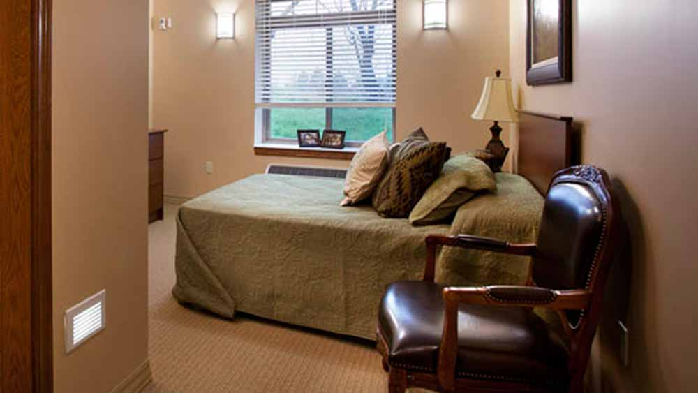 Great floor plans to choose from at Glen Carr House Memory Care in Derby, Kansas