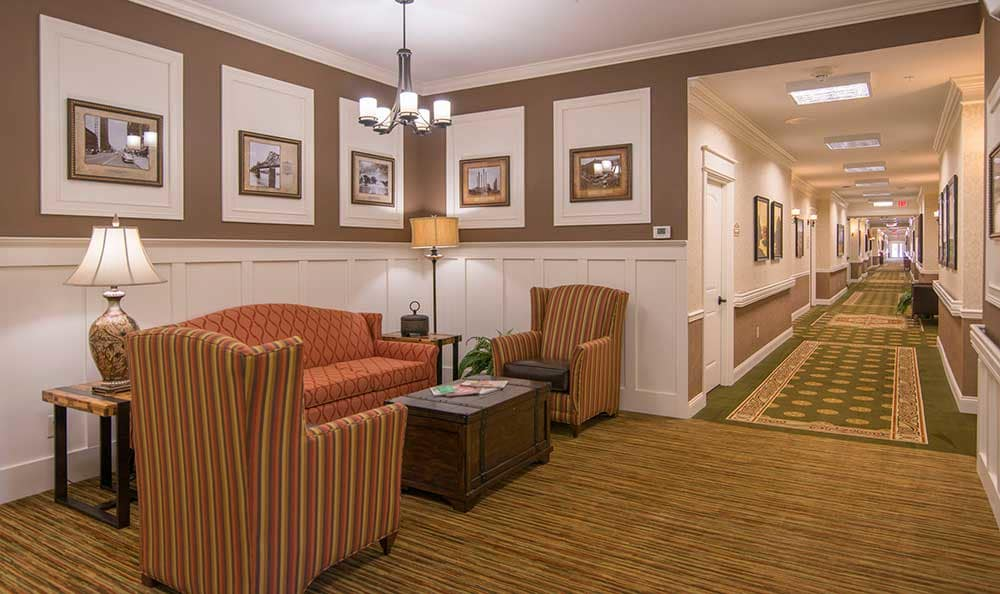Enjoy the hallway at Morning Pointe of Louisville