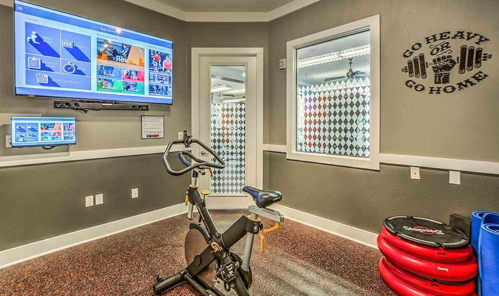 Exercise bike at our Las Vegas apartments